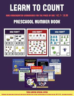 Preschool Number Book (Learn to Count for Preschoolers): A Full-Color Counting Workbook for Preschool/Kindergarten Children. - Preschool Number Book 4 (Paperback)