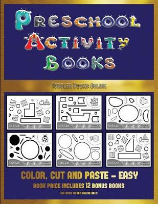 Toddler Books Online (Preschool Activity Books - Easy) by James Manning,  Christabelle Manning | Waterstones