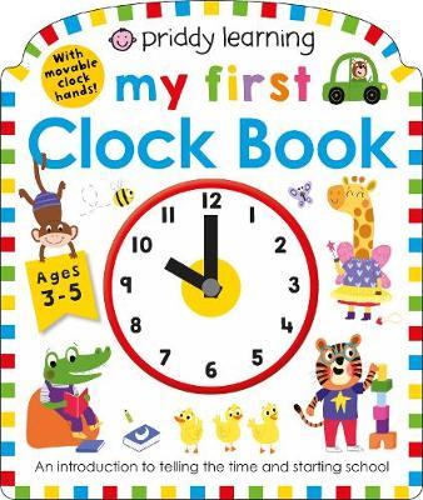 My First Clock Book (Board book)