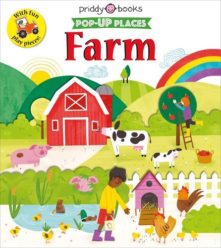 Pop Up Places Farm (Board book)