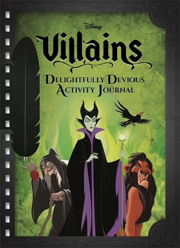 Disney Villains Delightfully Devious Activity Journal - Magnet Pen Journal (Hardback)