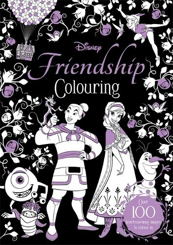 Disney Friendship Colouring (Paperback)