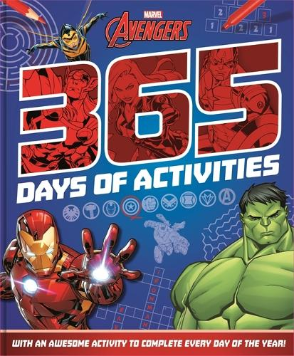 Marvel Avengers 365 Days of Activities (Paperback)