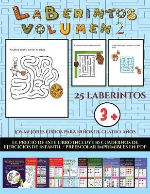Fichas de preescolar (Laberintos - Volumen 2): 25 fichas imprimibles con laberintos a todo color para ninos de preescolar/infantil - Fichas de Preescolar 23 (Paperback)