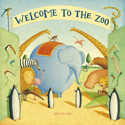 Welcome to the Zoo (Board book)