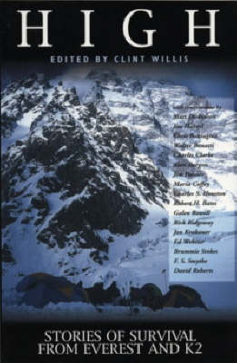 High: Stories of Survival from Everest and K2 - Adrenaline S. (Paperback)