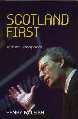 Scotland First (Hardback)