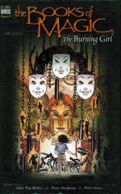 The Books of Magic: Burning Girl - Books of magic (Paperback)