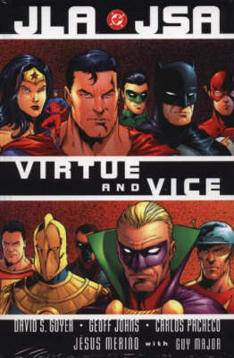 JLA/JSA: Virtue and Vice - JLA/JSA (Hardback)