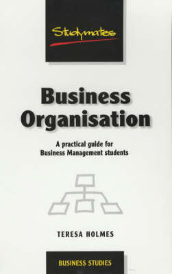 Business Organisation - Business Studies (Paperback)