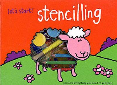 Stencilling - Let's Start (Spiral bound)
