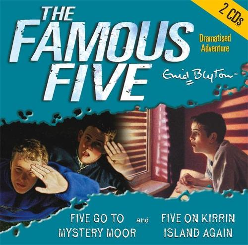 Famous Five: Five Go to Mystery Moor & Five On Kirrin Island Again - Famous Five (CD-Audio)