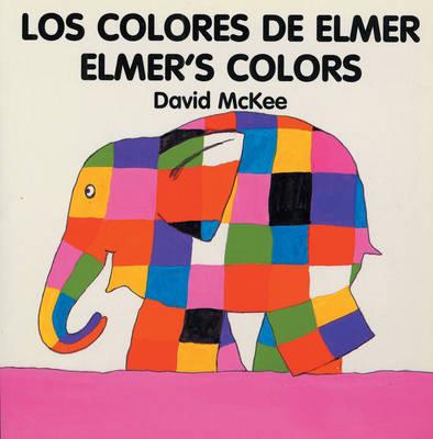 Elmer's Colours (spanish-english) (Board book)