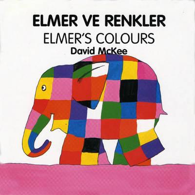 Elmer's Colours (turkish-english) (Board book)