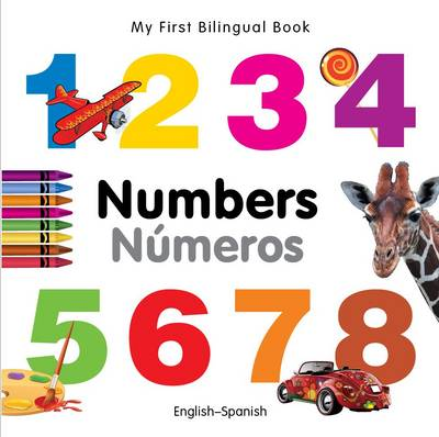 My First Bilingual Book - Numbers - English-german (Board book)