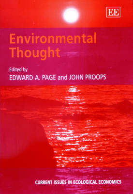 Environmental Thought - Current Issues in Ecological Economics Series (Hardback)