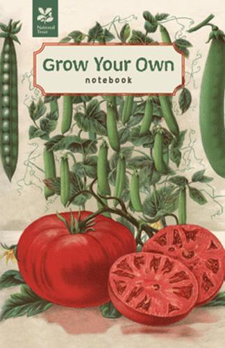 Grow Your Own Vegetables (Notebook) - National Trust Home & Garden (Hardback)