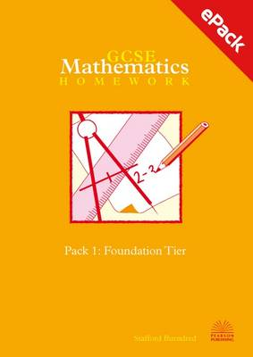 Two-tier GCSE Mathematics Homework Pack: Foundation Tier Pack 1 (CD-ROM)