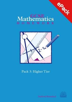 Two-tier GCSE Mathematics Homework Pack: Higher Tier Pack 2 (CD-ROM)