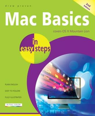 Mac Basics in easy steps: Covers OS X Mountain Lion (Paperback)