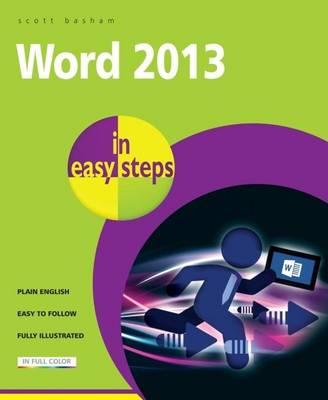 Word 2013 in Easy Steps (Paperback)
