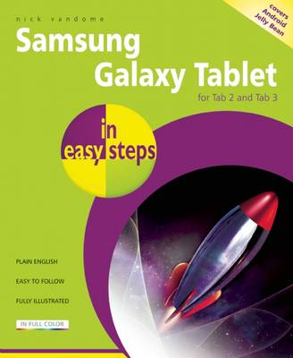 Samsung Galaxy Tab 2 in Easy Steps: Covers 7 and 10 Inch Versions (Paperback)