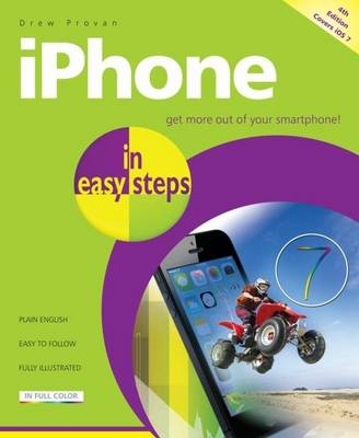 iPhone in Easy Steps: Covers iOS 7 (Paperback)