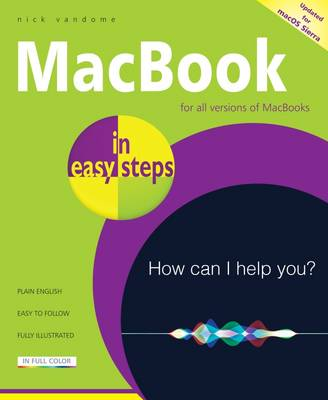 MacBook in easy steps: Covers Macos Sierra (Paperback)