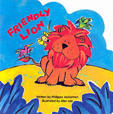Lion - Animal Board Books - Jungle S. (Hardback)