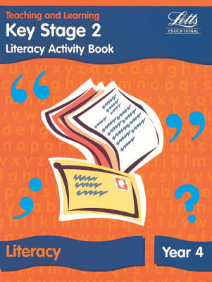 KS2 Literacy Activity Book: Year 4: Literacy Textbook - Year 4 - Letts Primary Activity Books for Schools (Paperback)