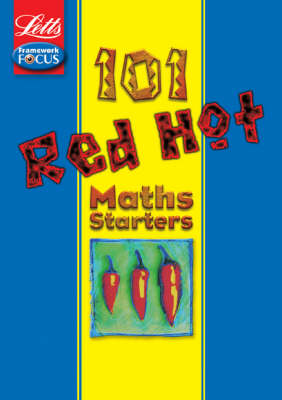 Letts Red Hot Starters - Maths - Letts 101 Red Hot Starters (Paperback)