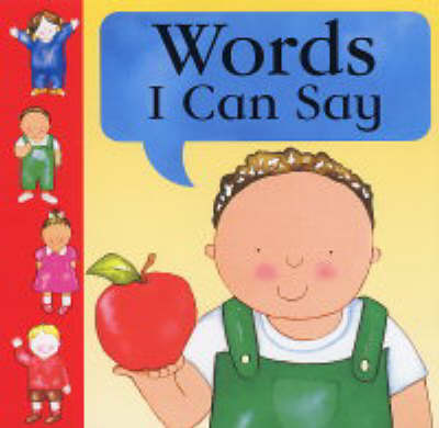 Words I Can Say (Board book)
