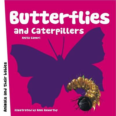 Butterflies and Caterpillars - Animal Families (Board book)