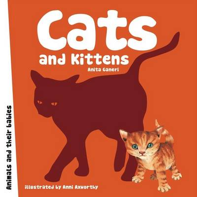 Cats and Kittens - Animal Families (Board book)
