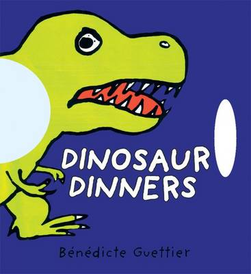 Dinosaur Dinners - Funny Faces (Board book)