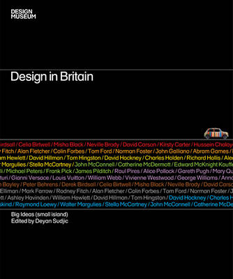 Design in Britain: Big Ideas (small Island) (Hardback)