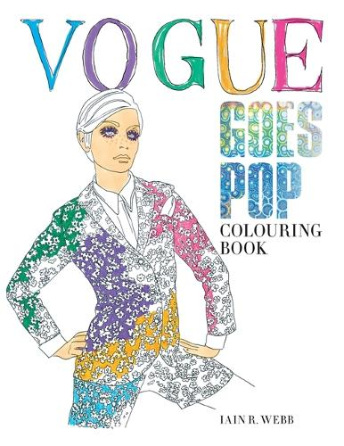 Vogue Goes Pop Colouring Book (Paperback)