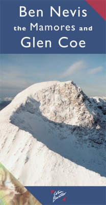 Ben Nevis and Glencoe - Colin Baxter Maps (Sheet map, folded)