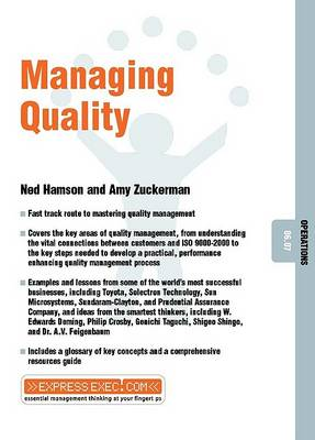 Managing Quality: Operations 06.07 - Express Exec (Paperback)