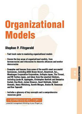 Organizational Models: Organizations 07.07 - Express Exec (Paperback)