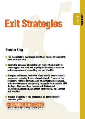 Exit Strategies: Enterprise 02.07 - Express Exec (Paperback)
