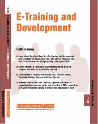 E-Training and Development: Training and Development 11.3 - Express Exec (Paperback)