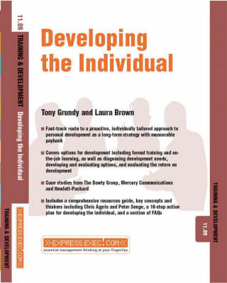 Developing the Individual: Training and Development 11.9 - Express Exec (Paperback)