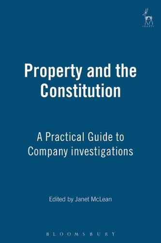 Property and the Constitution (Hardback)