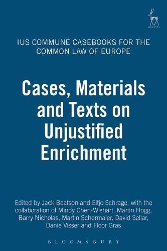 Ius Commune Casebooks for the Common Law of Europe: 3 (Paperback)