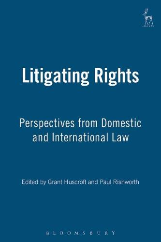 Litigating Rights: Perspectives from Domestic and International Law (Hardback)