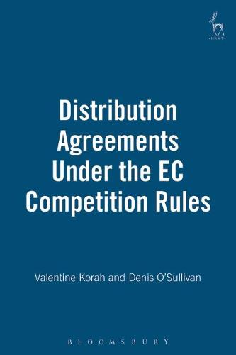 Distribution Agreements Under the EC Competition Rules (Hardback)