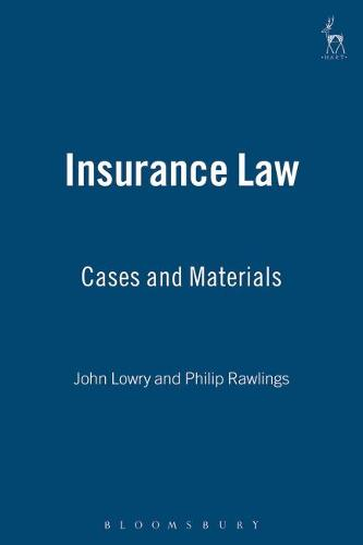 Insurance Law: Cases and Materials (Paperback)