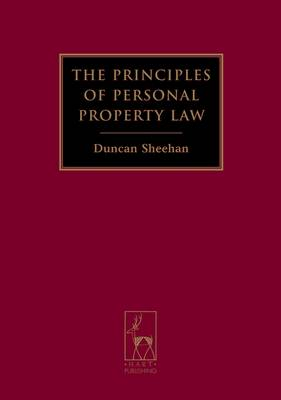 The Principles of Personal Property Law (Paperback)