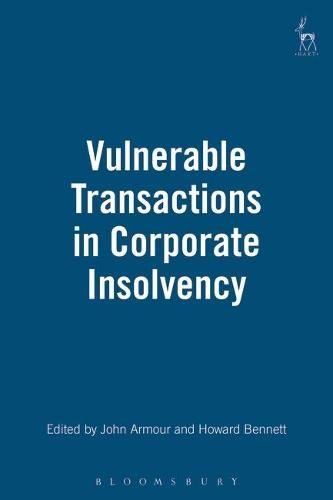 Vulnerable Transactions in Corporate Insolvency (Hardback)